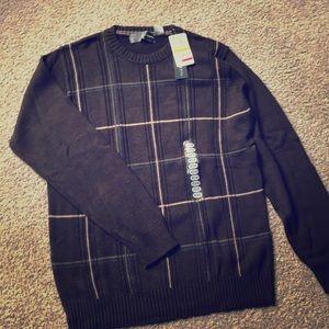 Men's Plaid Sweater